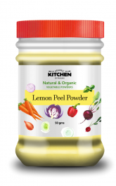 Organic Kitchen's Lemon Zest (Peel) Powder